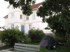 Nachtlager Nr. 4 - mit freundlicher Genehmigung des Hausherrn ;-)