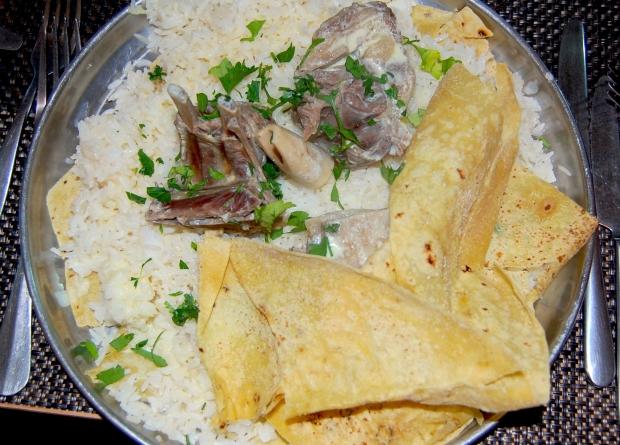 Mansaf- ein traditionelles jordanisches Gericht