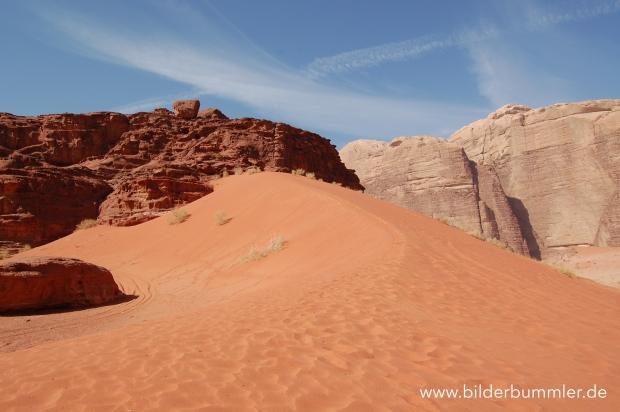 Sand gibt´s hier natürlich auch