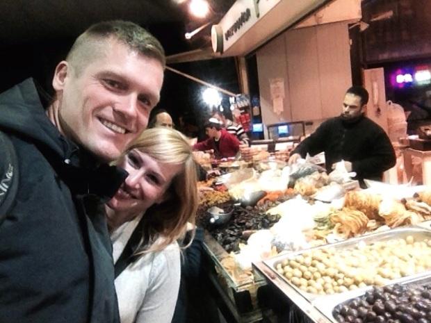 Auf dem Mahane Yehuda Markt erlebst du typisch Israelisches Treiben und kannst sensationell leckere Lebensmittel kaufen