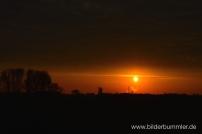 Sonnenaufgang bei Waltrop